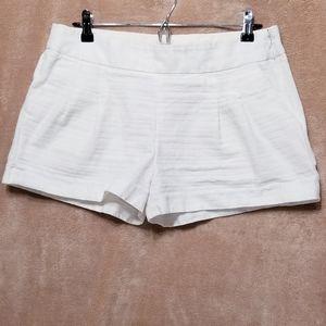 Women's J Crew White Shorts Size 10